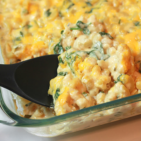 Creamy Mac 'n' Cheese with Spinach
