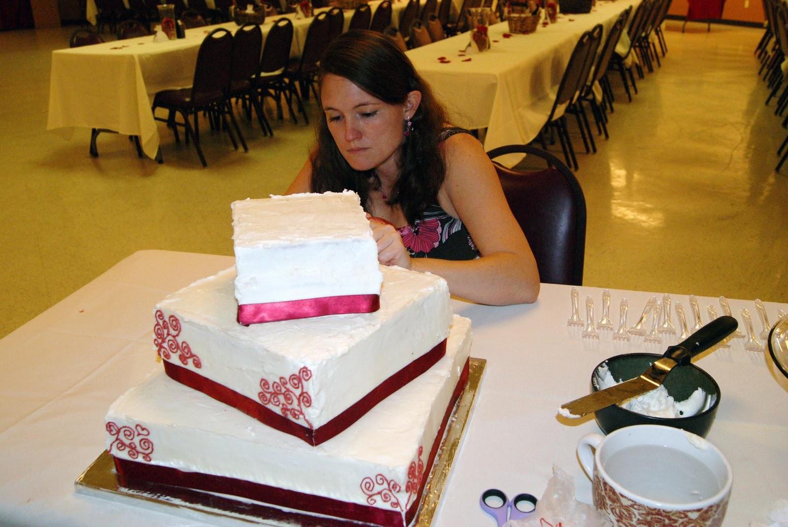 official wedding cake!