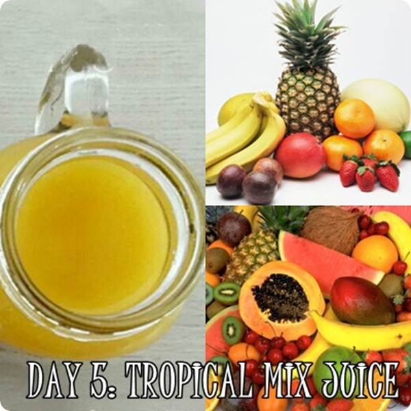 Fresh Code Tropical mix juice