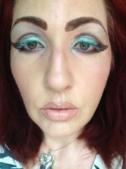 Wearing NYX Cosmetics Prismatic Eyeshadows Look 2_2