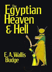 Cover of EA Wallis Budge's Book The Egyptian Heaven And Hell
