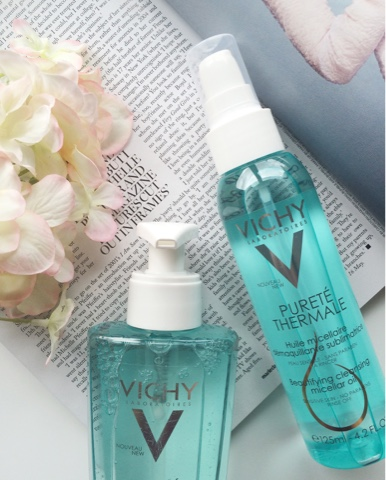 Vichy, Vichy review, Vichy skincare review, Vichy Micellar Cleansing Oil review, Vichy Fresh Cleansing Gel review