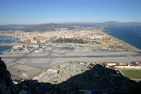Runway Through The Middle of Town - Gibraltar, UK