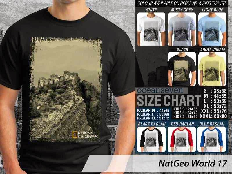Kaos National Geographic NatGeo World 17 distro ocean seven