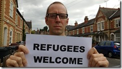 Rob White refugees welcome