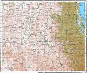Уменьшенное изображение Карта 200k--j39-19