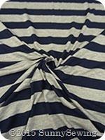 navy rayon stripe