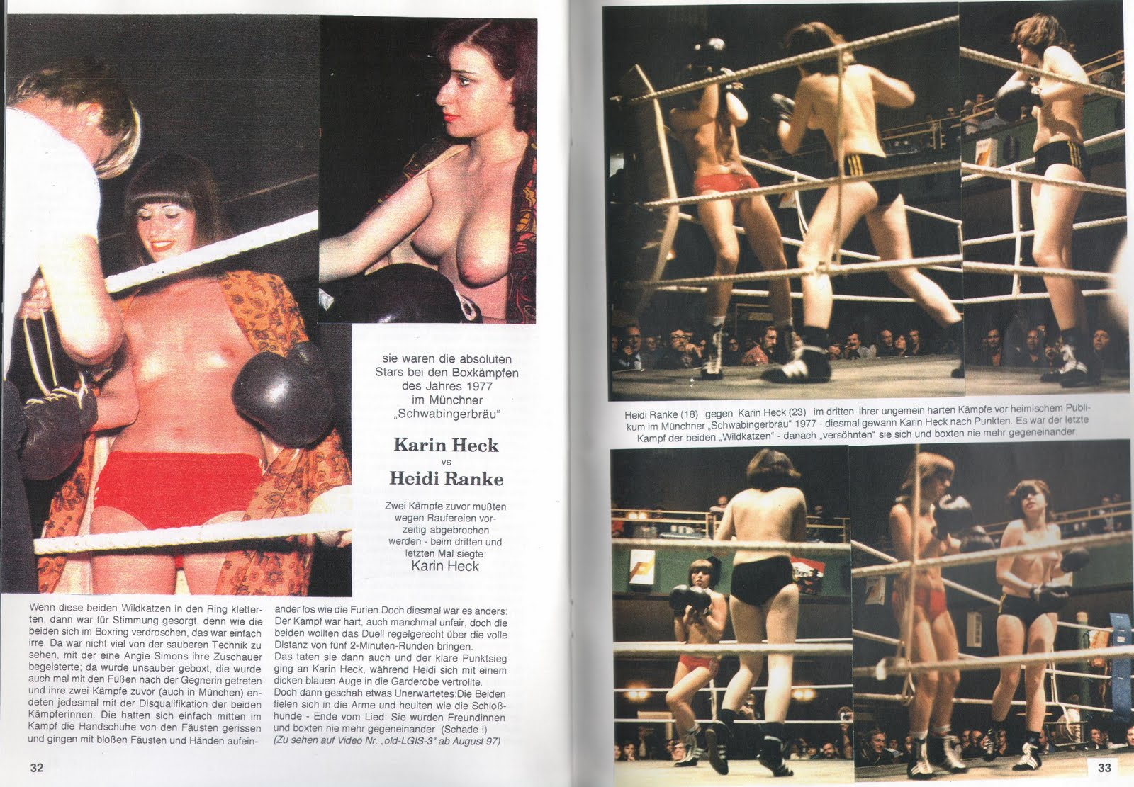 Thanks Action girls boxing topless absurd