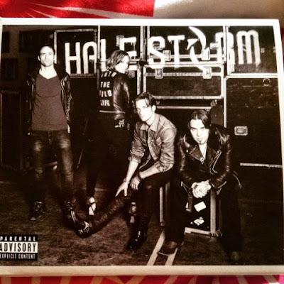 "Album cover artwork for Halestorm - ""Into the Wild Life"""