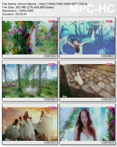 [MUSIC VIDEO] 安室奈美恵 – Hero (2016.07.27/MP4/RAR)