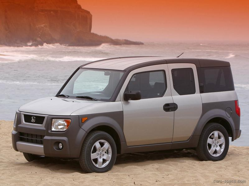 2008 honda element suv specifications pictures prices for Honda element dimensions