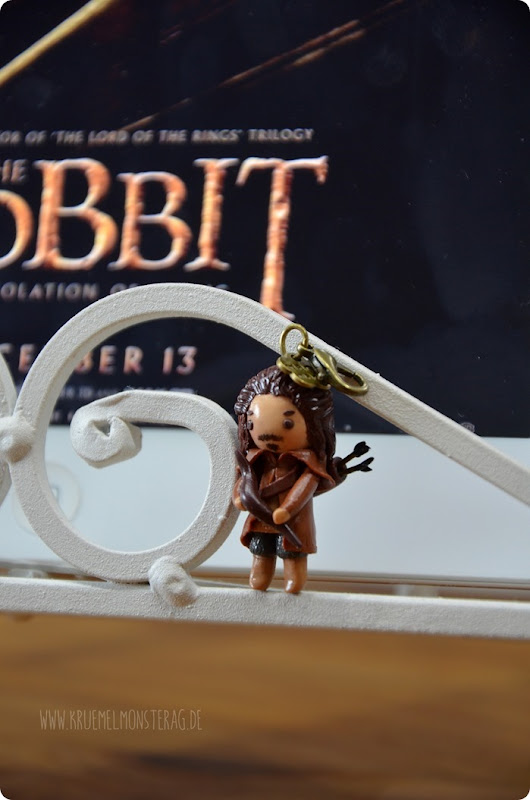 Bard The Bowman (03) Chibi Polymer Clay handmade by Samira