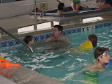 Hannah, Bryan and Jeff in the pool at the Hampton Inn in St Louis 03192011b