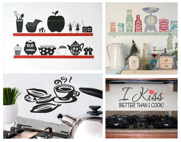 Wandsticker für die Küche sorgt für würze im Raum