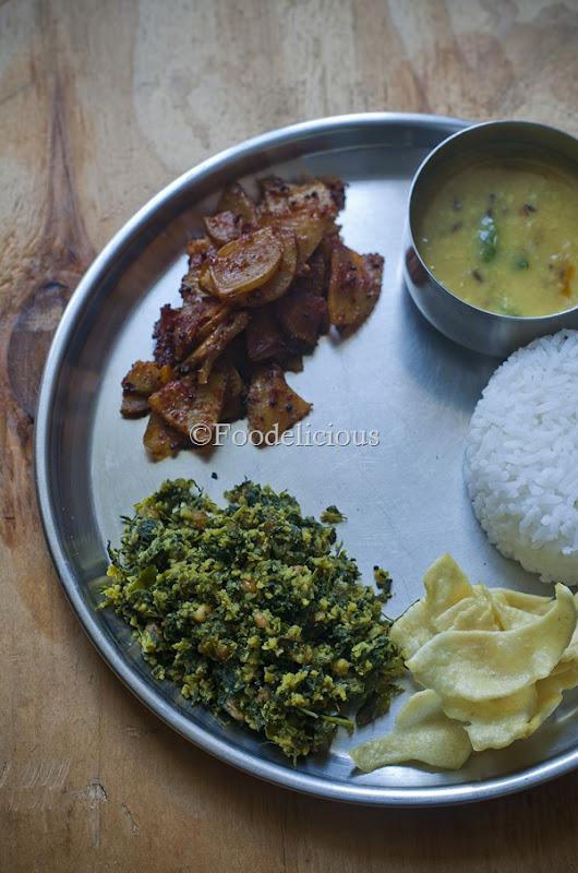 Foodelicious-Karnataka Thali
