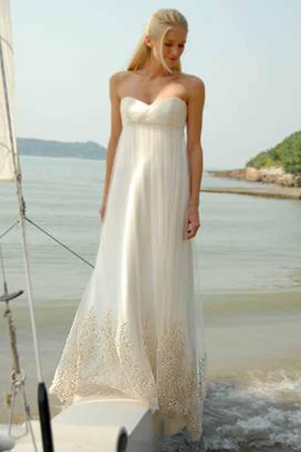 Hilary 39 s blog casual beach wedding gowns 4 for Casual beach wedding dress