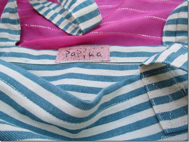 etichetta stoffa papina