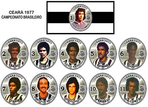133 - Ceará 1977 - Campeonato Brasileiro