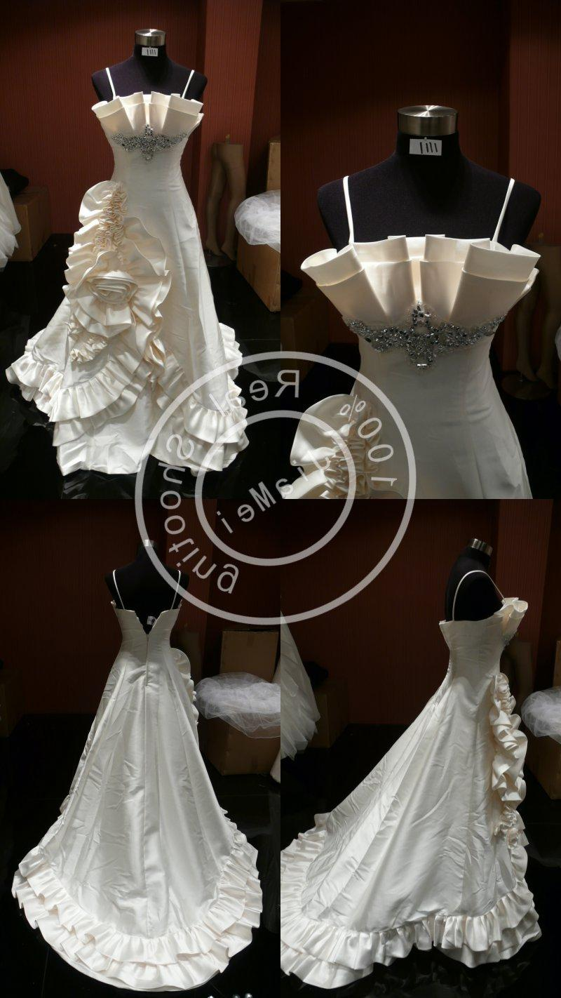 wedding dress satin sash