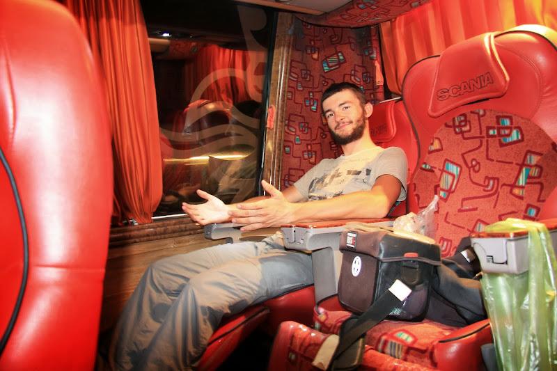 Komfort w busach nieziemski!