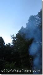smoke sky blue