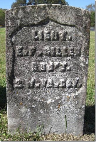 GILLEN_Elijah F_1821-1896_original headstone_RomeProctorCemOH