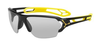 Gafas de Sol Cébé S'TRACK Large CBSTL2 Shiny Black Yellow - Vario Perfo   500 clear