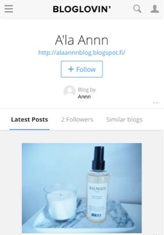 bloglovin, ala annn, follow, seuraa, seurata, blogi, bloggaaja, bloggaus, bloggaaminen, bloglovin ala annn, post, postaus, lukea,