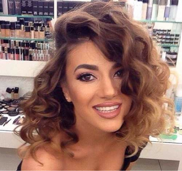 Graceful Hair Makeover Ombre Short Hair Styles