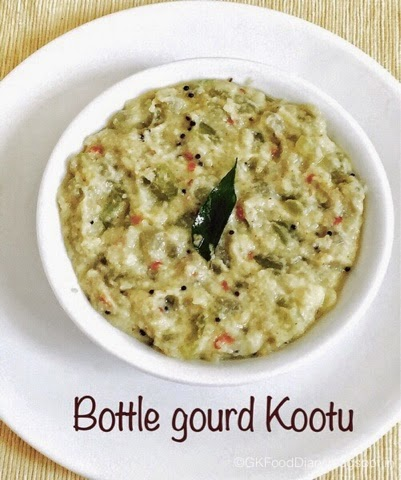 Bottle gourd / Sorakkai Kootu Recipes