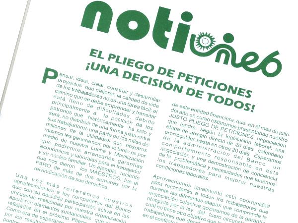 NotiUNEB | Junio 2015: Un pliego de peticiones ¡Una decisión de todos!