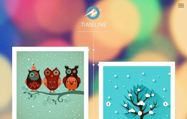 blogger-template-timeline