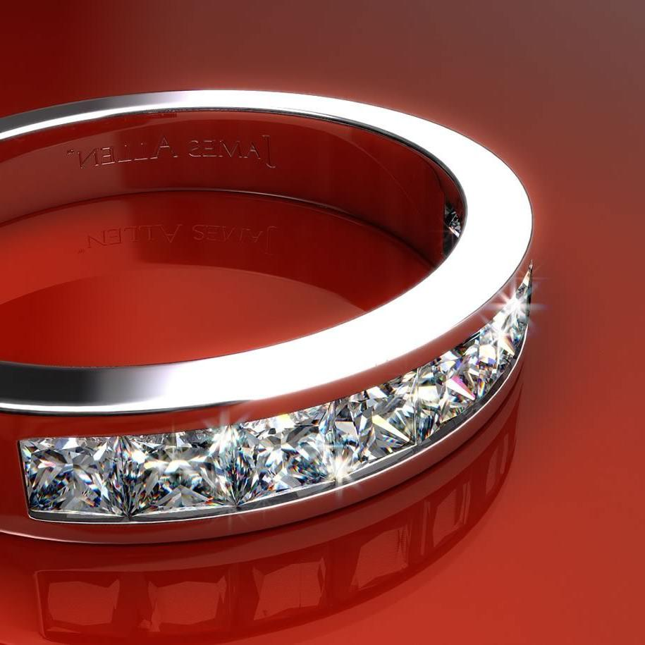 Channel Wedding Rings Ideas