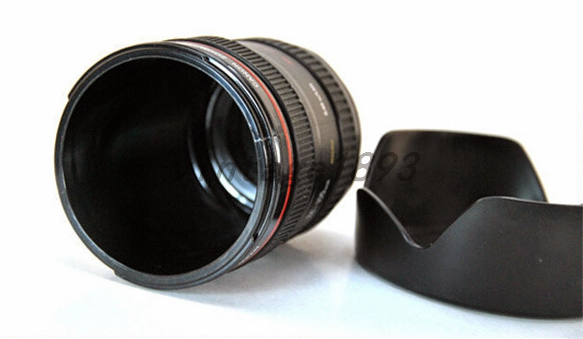 thermosflasche kaffee tee wasser tasse kamera stil innovation deko geschenk ebay. Black Bedroom Furniture Sets. Home Design Ideas