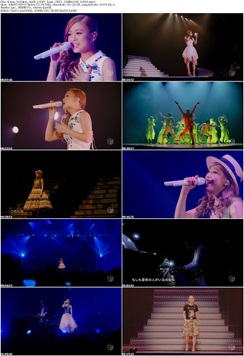 [TV-Variety] 西野カナ – with LOVE tour (MP4/3.79GB)