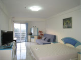 studio apartment in jomtien beach condominium for rent  to rent in Jomtien Pattaya