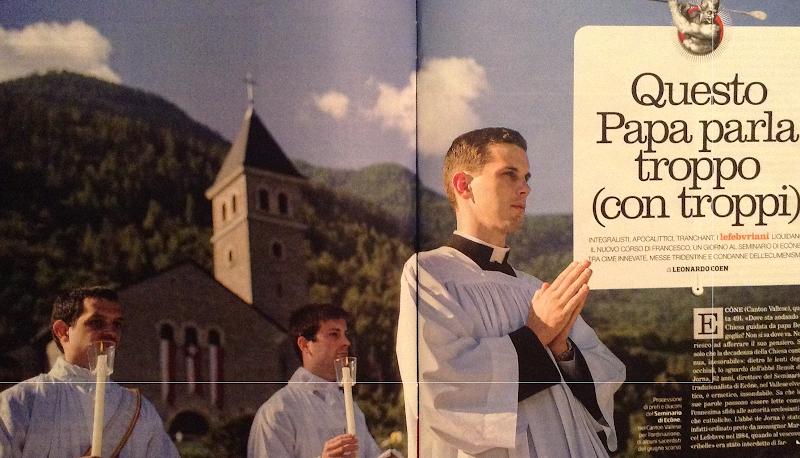 """""""Questo Papa parla troppo, e con troppi"""""""