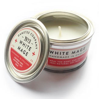 White Mage Candle from Game Tee
