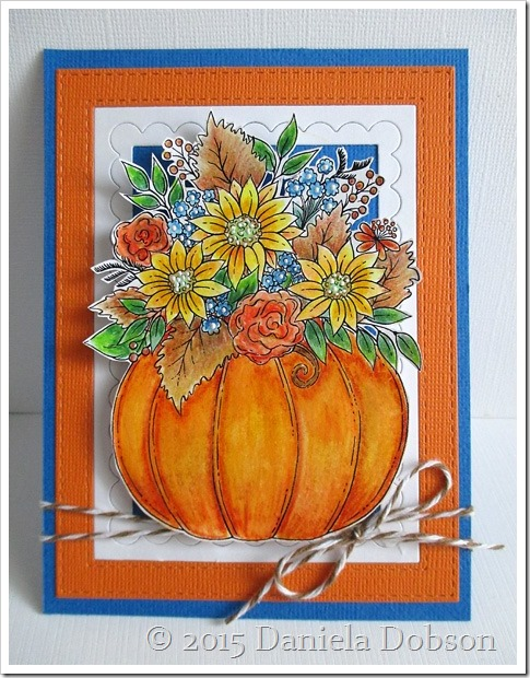 Pumpkin arrangement by Daniela Dobson