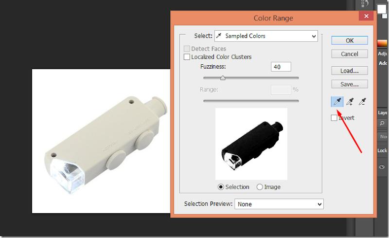 cara menggunakan color range photoshop