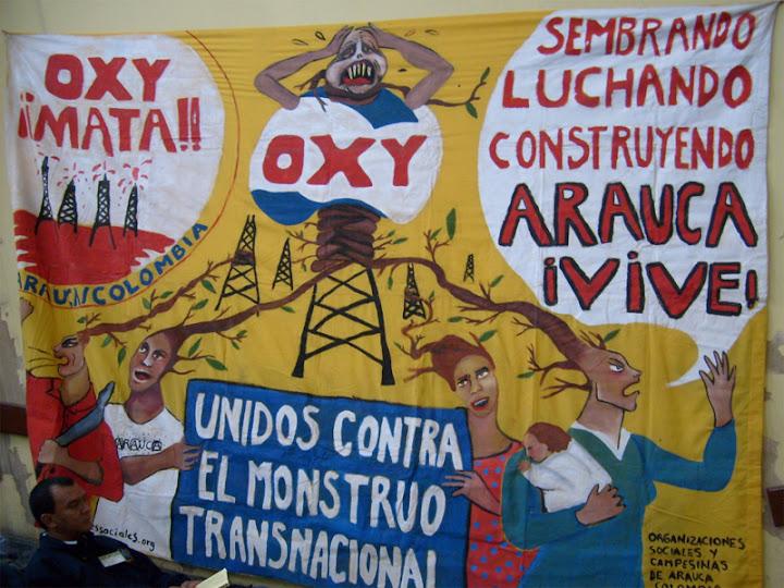 La OXY de Colombia subestima a los profesionales araucanos.