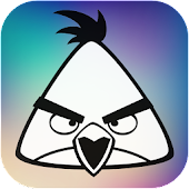 How to color Angry birds hero for kids