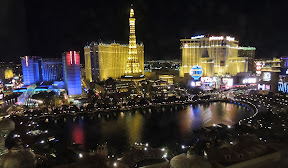 View from our room at the Bellagio