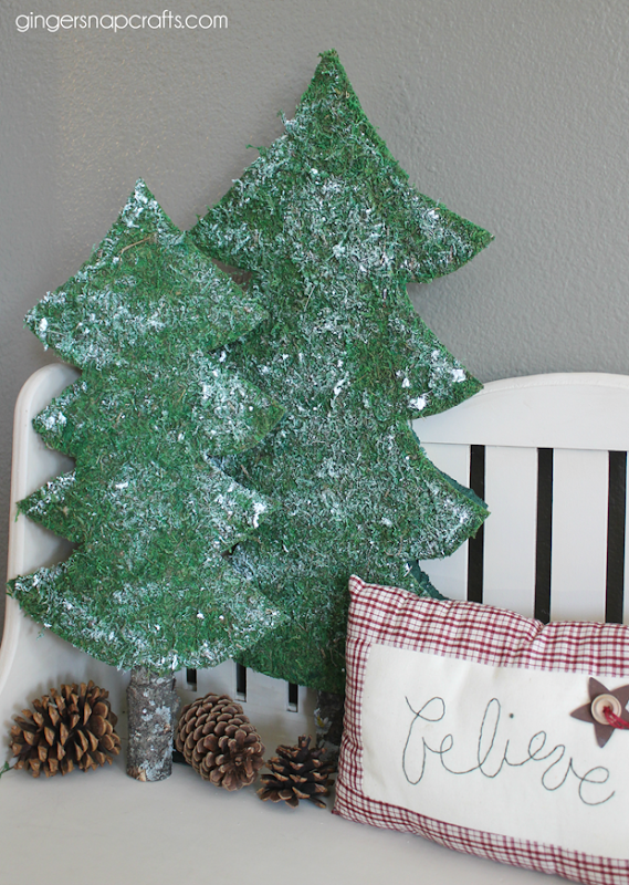 faux fir trees