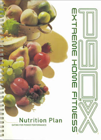 Cover of Tony Horton's Book Full Nutrition Guide