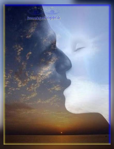 pocałunek nocy z dniem jedność Yin i Yang / Yīn Yáng Harmonia