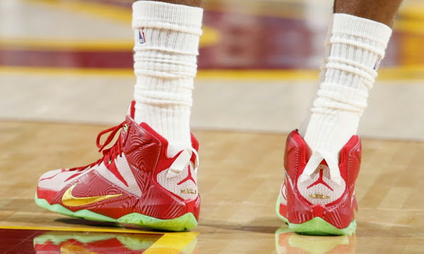 James Debuts Sprite8217s LeBronMix PE in Vintage Game 5 Performance