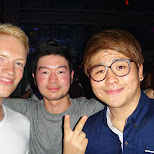 the boys tearing it up at club Octagon in Seoul, Seoul Special City, South Korea