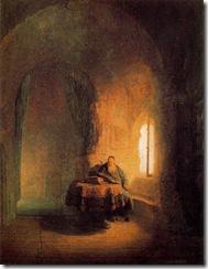 rembrandt-estudioso-leyendo-pintores-y-pinturas-juan-carlos-boveri