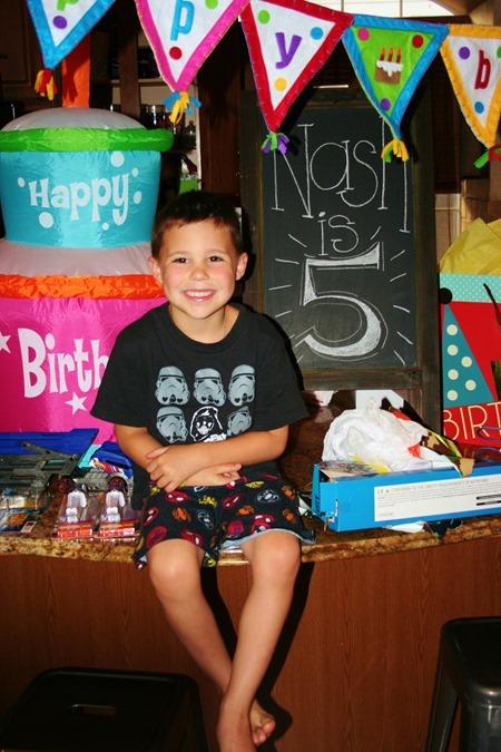 Nash's Birthday Slickpaw 103